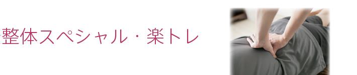 整体スペシャル・楽トレ